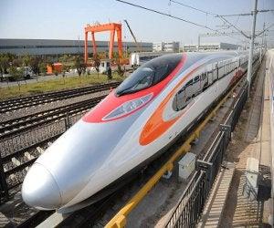 Hong Kong Express Rail Link train