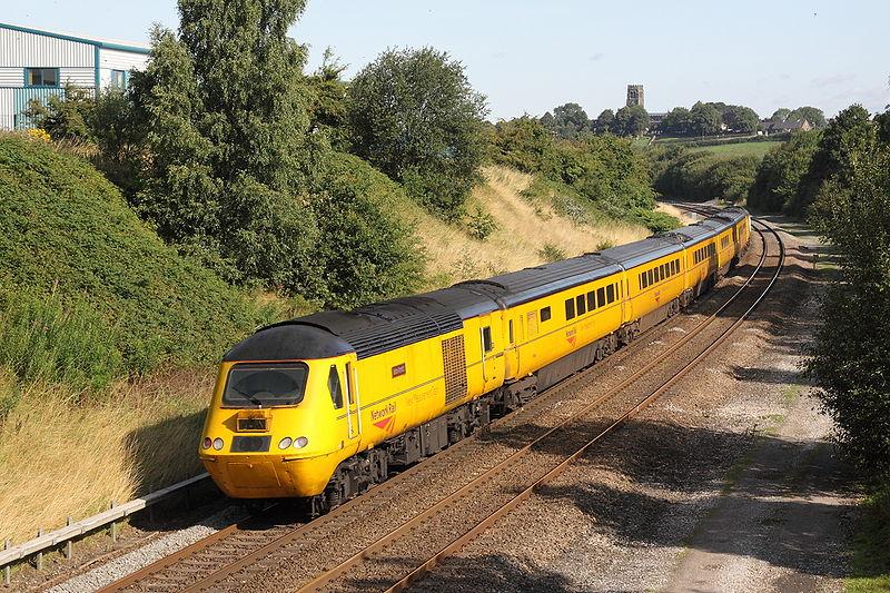 Network Rail train