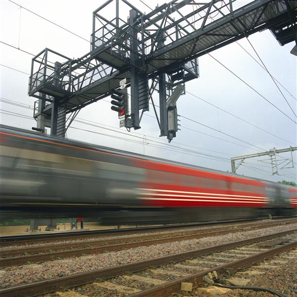 Network Rail- train and gantry