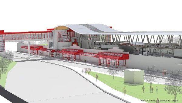 Ottawa light rail transit project