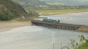 Pont Briwet Bridge replacement