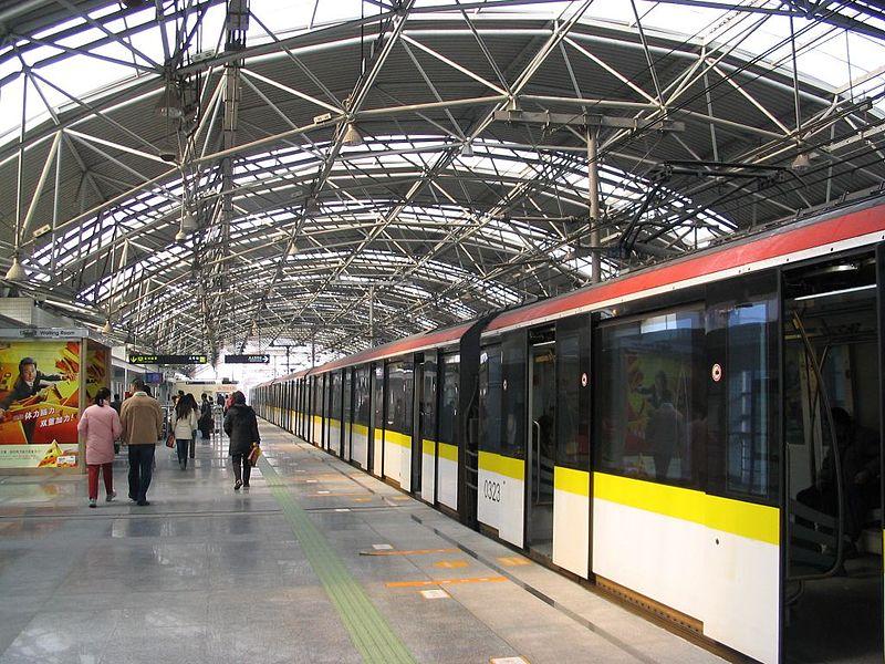 Shanghai metro lines 3