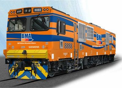 Siemens E40AC locomotive