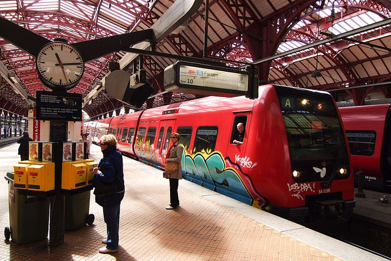 S-train at Copenhagen