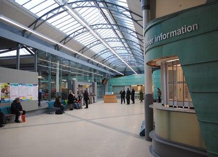 Swansea Railway Station Reopening