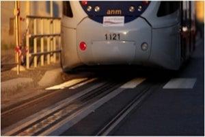 catenary-free tramway line