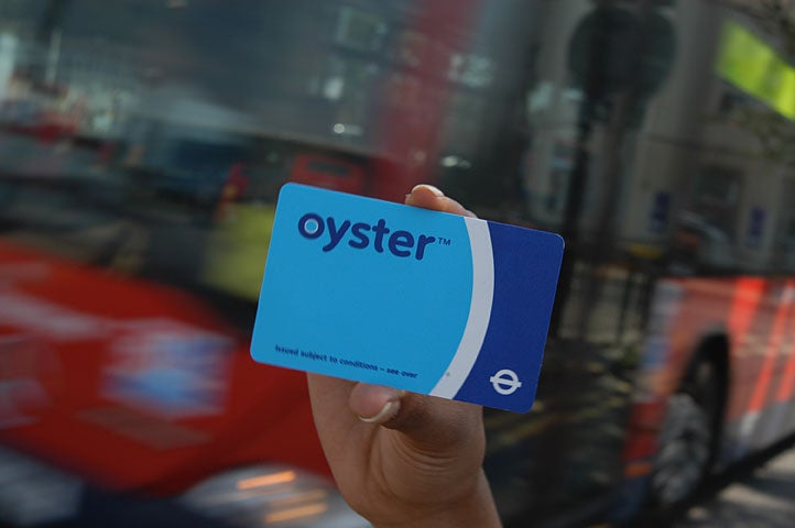 Oyster Card, London, UK