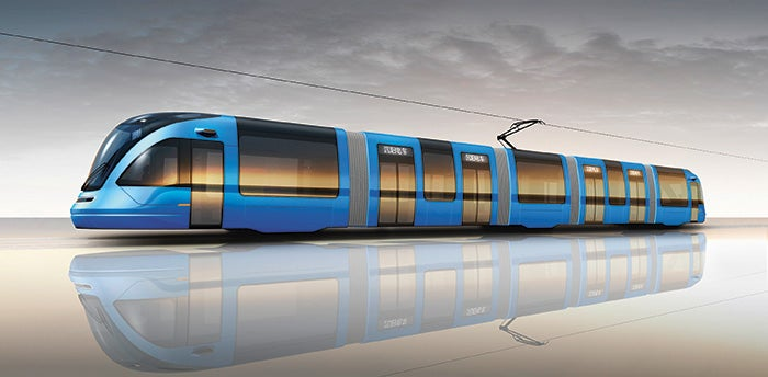 voith_tram in_shenyang
