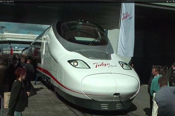 Talgo Avril Very High Speed Train