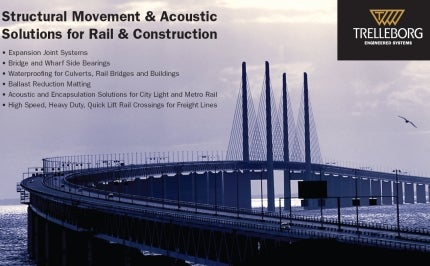 Structural Movement and Acoustic Solutions for Rail and Infrastructure